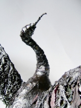 <h5>Cormorant detail</h5><p>Sea Weed and Wire Size 80cm</p>