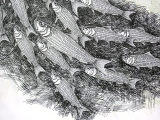 <h5>Herring</h5><p>Pen and Ink</p>